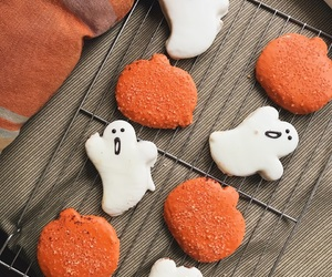 autumn, ghosts, and Cookies image