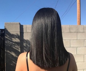 bobs, hairstyles, and long bob image