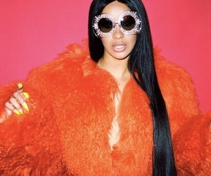 celebrity, fashion, and cardi b image