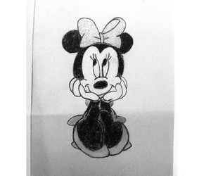 art, draw, and mickey image