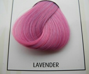 pink, hair, and lavender image