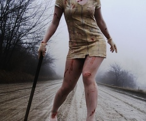 silent hill, horror, and black and white image