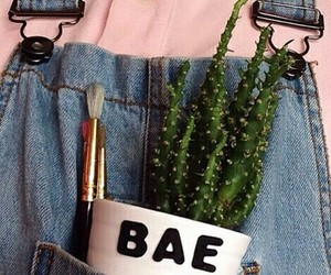 bae, jeans, and pastel image