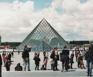 louvre, analogic, and photography image