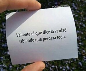 frases, valiente, and valentía image