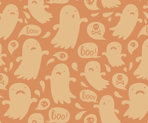 Halloween, ghost, and wallpaper image