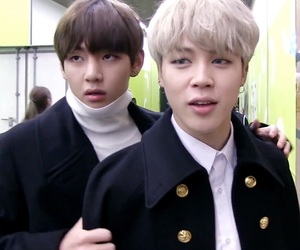 bts, vmin, and jimin image