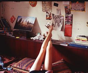 legs, room, and vintage image