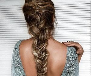 braid, pretty, and weeding image