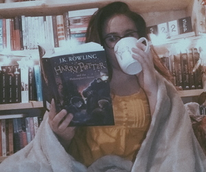 autumn, marshmallows, and reading image