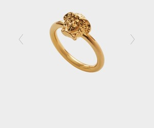 gold, medusa, and ring image