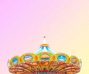 aesthetic, carousel, and minimalism image