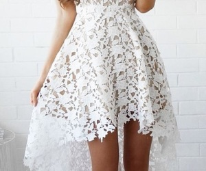 dress, white, and clothes image