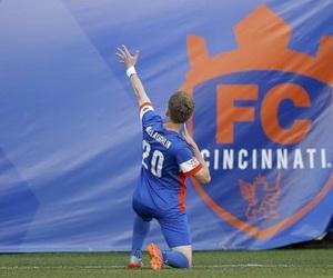 football, fc cincinnati, and soccer image