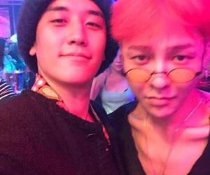 g-dragon, gd, and seungri image
