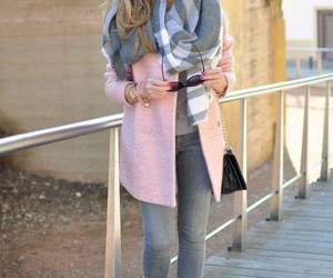 pink, winter, and fashion image