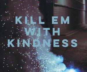 selena gomez, kill em with kindness, and Lyrics image