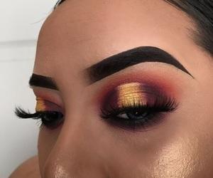 eyeshadow, halo, and makeup image