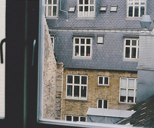 vintage, window, and house image