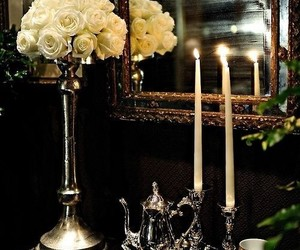 candles, luxury, and entry image