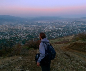 city of angels, grunge, and hiking image