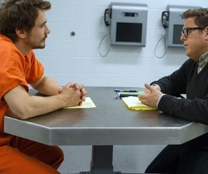 james franco, jonah hill, and movie image