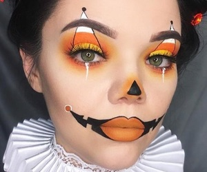 Halloween, ideas, and makeup image