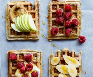 banana, oat, and waffles image