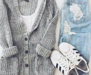 casual, outfits, and outfit casual image