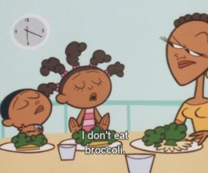 broccoli, cartoon, and funny image