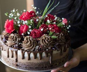 art, cake, and food image