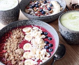 banana, berries, and food image