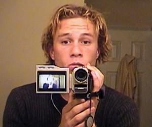 heath ledger, 90s, and camera image