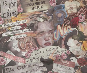 aesthetic, alternative, and Collage image