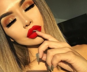 beautiful, makeup, and pic image
