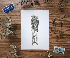 skeleton and skulls image