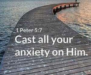 anxiety and scripture image