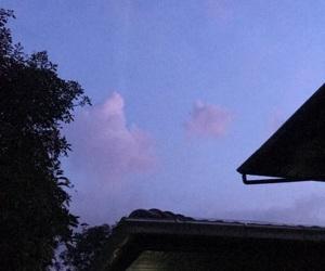 blue, mood, and sky image