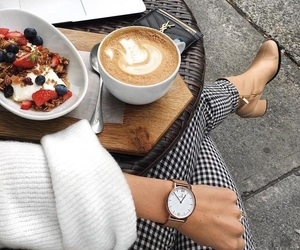 coffee, fashion, and food image