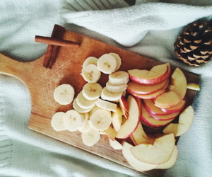 apple, autumn, and banana image