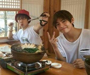 jimin, taehyung, and bts image