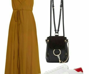 backpack, dress, and dresses image