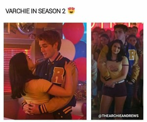 Archie, veronica, and riverdale image
