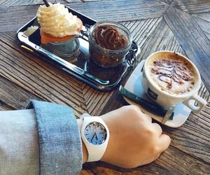 autumn, cappuccino, and ice cream image