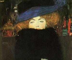 art, Gustav Klimt, and painting image
