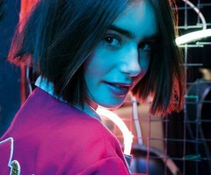 blue, girl, and purple image