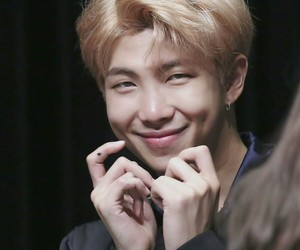 dimples, rm, and bts image