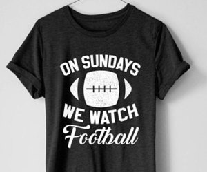 etsy, football tee, and sports tee image