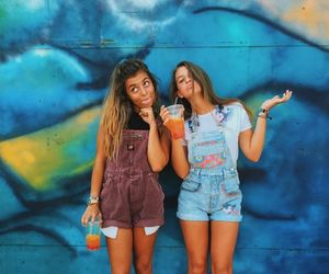 fashion, teens fashion, and overalls image