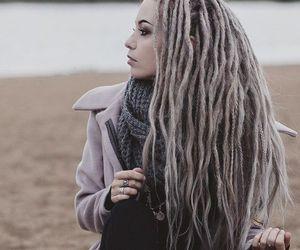 dreadlocks, dreads, and girl image
